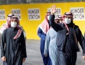 تركى آل الشيخ ينشر فيديو لحضور ولى العهد السعودى منافسات فورمولا الدرعية 2021