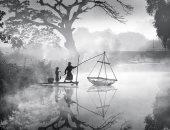 """100 صورة عالمية.. """"صيد السمك فى الصباح الباكر"""" بميانمار"""