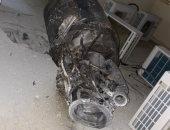صور توثق شظايا صاروخ باليستى أطلقه ميليشيا الحوثى الإرهابية على الرياض