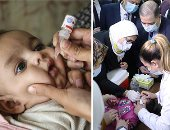انطلاق حملة التطعيم ضد شلل الأطفال.. وزيرة الصحة: نجحنا فى الحصول على 38.2 مليون جرعة من التطعيمات.. ومشاركة 2800 سيارة إسعاف وقوافل علاجية للوصول إلى الأماكن النائية.. وتناشد أولياء الأمور بضرورة تطعيم أطفالهم