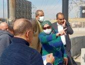 نائب محافظ القاهرة تتفقد أعمال تطوير محور الزهراء بالمعادى.. صور