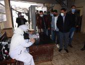 محافظ مطروح يتابع حملة التطعيم ضد مرض شلل الأطفال .. صور وفيديو