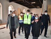 سفير بلجيكا بالقاهرة يزور مشروع متحف قناة السويس العالمى .. صور وفيديو