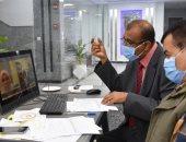 انطلاق اختبارات المرشحين للعمل بالإدارة العامة لنظم المعلومات بأسوان.. صور