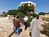 رئيس مدينة الطود يتفقد مشروعات صيانة مدرسة نجع أبو الحمد.. صور