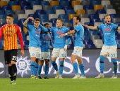 نابولى يتخطى تورينو بثنائية فى الدوري الإيطالي.. فيديو