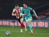 """شيفيلد يونايتد ضد ليفربول.. جونز يفتتح أهداف الريدز بالدقيقة 48 """"فيديو"""""""