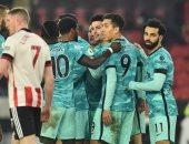 ليفربول يستعيد نغمة الانتصارات بالبريميرليج ضد شيفيلد بمشاركة محمد صلاح