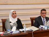 وزيرة التضامن: 420 ألف مسن يحصلون على دعم نقدى بإجمالى 2 مليار جنيه سنويا
