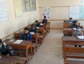 انتظام امتحانات الصف الرابع الابتدائى والثانى الثانوى بشمال سيناء