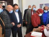 صور.. انطلاق الحملة القومية للتطعيم ضد شلل الأطفال بالشرقية