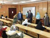 جامعة سوهاج تواصل امتحانات الفصل الدراسى الأول بكليتى الزراعة والآداب