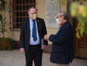 رئيس الكنيسة الأسقفية يستقبل السفير الأيرلندى لبحث التعاون المشترك