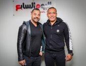 طارق العريان يزور اليوم السابع ويطلع على تجربة أول تليفزيون ديجيتال فى مصر