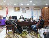 لجنة من وزارة التنمية المحلية لمتابعة المشروعات بمدينة سفاجا.. صور