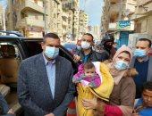 محافظ البحيرة يتفقد فعاليات حملة التطعيم ضد مرض شلل الأطفال