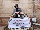 رئيس فلسطين يرسل باقة زهور لوضعها على قبر يوسف شعبان
