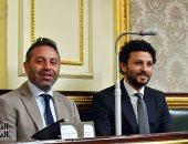 صورة اليوم.. الكابيتانو والثعلب في الجلسة العامة بمجلس النواب