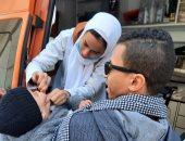 إسعاف السويس يشارك فى حملة تطعيم ضد مرض شلل الأطفال