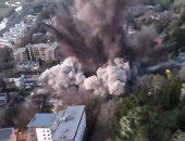 4 انفجارات ضخمة تهز مدينة في غينيا الاستوائية