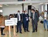 رئيس جامعة القناة يتفقد لجان امتحانات الكلية المصرية الصينية.. صور