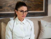 الملكة رانيا تشارك باجتماع الجمعية الملكية للتوعية الصحية عبر الاتصال المرئى