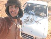 العاملون فى حفر وتطهير آبار حصاد الأمطار يواجهون خطر الأفاعى بصحراء مطروح