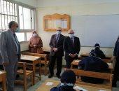 محافظ بورسعيد يتفقد الامتحانات.. ويؤكد: الدروس الخصوصية خطر يهدد أبنائنا..صور وفيديو
