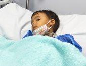 """أول صور للطفل المصرى """"ريان"""" بعد نجاح حقنه بأغلى دواء فى العالم بـ34 مليون جنيه"""