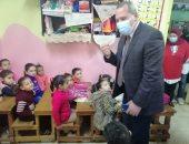 وكيل صحة الدقهلية يتابع فعاليات اليوم الأخير لحملة التطعيم ضد شلل الأطفال