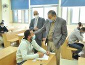 رئيس جامعة كفر الشيخ: 22 ألفا يؤدون امتحانات الفصل الدراسى الأول لليوم الخامس