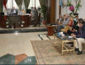 محافظ جنوب سيناء يتابع أعمال الإعداد لاحتفالات المحافظة بعيدها القومى