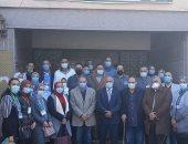 رئيس الطب الوقائى يتابع الحملة القومية للتطعيم ضد شلل الأطفال بالغربية