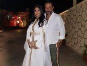 زوجة ماجد المصرى تعلن إصابتها بفيروس كورونا