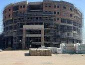 """الحكومة: الانتهاء من الهيكل الخرسانى لمستشفى """"الأورمان للأطفال""""بسوهاج الجديدة"""