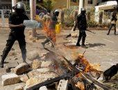 صور.. اشتباكات فى السنغال بعد اعتقال زعيم المعارضة