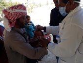 الوصول لـ 86.68 % من المستهدفين بالتطعيم ضد شلل الأطفال بشمال سيناء
