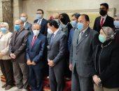 توقيع بروتوكول تعاون بين وزارة الرياضة ووكالة الفضاء المصرية .. صور وفيديو
