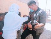 صحة الغربية تعلن انطلاق الجرعة الثانية للحملة القومية للتطعيم ضد مرض شلل الأطفال