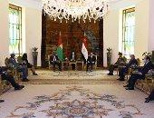 الرئيس السيسي: مباحثاتى مع رئيس غينيا بيساو عكست إرادتنا السياسية المشتركة