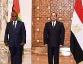 الرئيس السيسي يؤكد استعداد مصر لتقديم الدعم الممكن لترسيخ استقرار غينيا بيساو