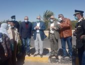 محافظ جنوب سيناء يتفقد امتداد شارع 306 قبل افتتاحه فى العيد القومى للمحافظة.. فيديو وصور
