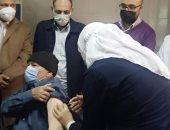 بدء توزيع لقاح كورونا بمستشفى العريش العام فى شمال سيناء