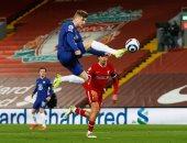 """ليفربول ضد تشيلسي.. تقنية الفيديو تلغي هدفا لفيرنر في الدقيقة 23 """"فيديو"""""""