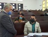 جامعة العريش تواصل الامتحانات وسط إجراءات احترازية مشددة