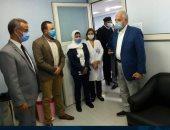 محافظ جنوب سيناء يتفقد استعدادات مستشفى شرم الشيخ لتطعيم لقاح كورونا للمواطنين