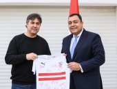 السفير المصرى يرحب بالزمالك فى منزله ويؤكد : الشعب التونسي يحب الكرة ومصر