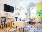 ديكورات لزيادة مساحة غرف النوم الضيقة.. فن اختيار الأثاث