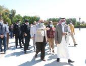 محافظ جنوب سيناء يتابع استعدادات مدينة طابا لاحتفالات المحافظة بعيدها القومى