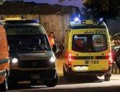 إصابة 6 أشخاص فى حادث تصادم سيارتين بسيدى سالم